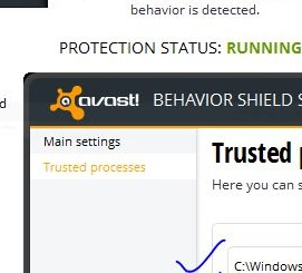 Khắc phục lỗi màn hình đen sau khi cài Avast trên Windows 8